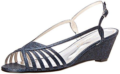 Caparros Women's Tango Dress Sandal, Navy - 7.5 B(M) US