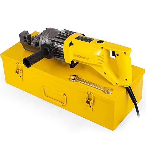"Happybuy Electric Hydraulic Rebar Cutter, 900W Portable Electric Rebar Cut 5/8""(16mm) #5 Rebar within 3 Seconds, 110V"