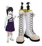 Demon Slayer Kimetsu No Yaiba Tsuyuri Kanawo Cosplay zapatos botas Halloween Cosplay disfraz accesorio 42 tamaño masculino