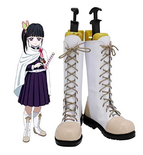 Demon Slayer Kimetsu No Yaiba Tsuyuri Kanawo Cosplay zapatos botas Halloween Cosplay disfraz accesorio 35 tamao femenino