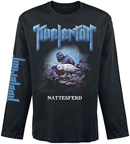 Kvelertak Nattesferd - Camiseta de Manga Larga, Color Negro Negro XXL