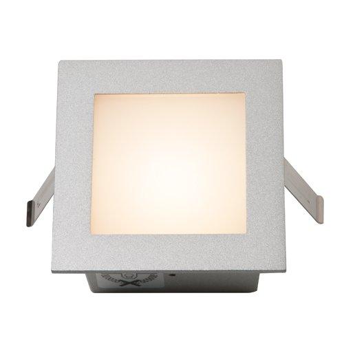 Einbauleuchte FRAME BASIC LED, Gehäuse silbergrau, LED warmweiß EEK: A++