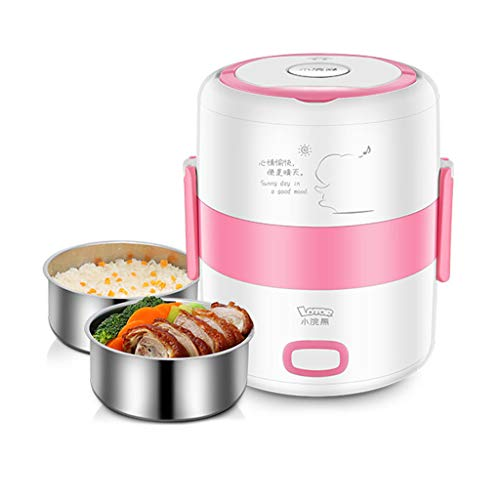 Aislamiento automático de la Fiambrera eléctrica 1.6 litros, Doble Capa Que Cocina...