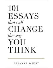 101 Essays That Will Change The Way You Think (English Edition)