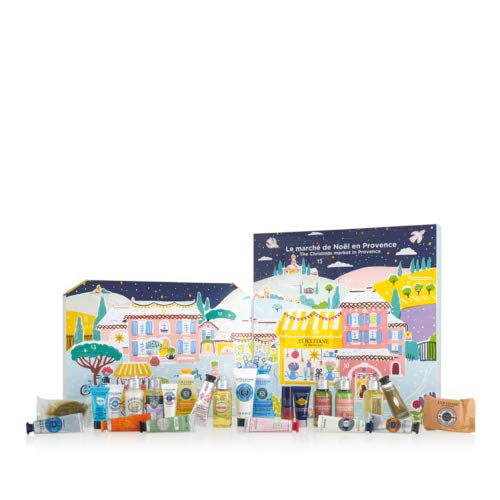 Loccitane Classic Beauty Adventskalender 2020 - idealer Advent Kalender für die Frau, Beautykalender Wert 200 €, 24 Damen Beauty Produkte