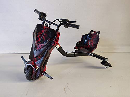 Oviboard.es Drifter - Derrapador eléctrico Multicolor/Blanco/Rosa - 15km de autonomía (Negro)