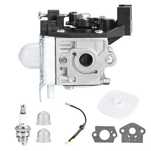 Zerodis Kit de carburador, Repuesto de carburador de 8 Piezas con Alta precisión para Recortadora Echo GT225 GT225i GT225L PAS225 PE225 PPF225 SHC225 SRM225 SRM225U