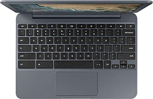 Samsung Chromebook 3 11.6-inch HD WLED Intel Celeron 4GB 32GB eMMC Chrome OS Laptop (Charcoal) 3
