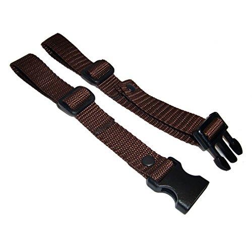 GURTIES® Brustgurt für Schulranzen Schulrucksack Rucksack universal (braun)