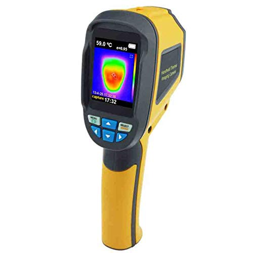 Thermal Imaging Camera 60x60 Infrared Thermal Imager 3600 Pixel Temperature Emissivity Tester Heat Detection for Medical, Industrial, Agricultural, Automotive use