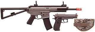 U.S. Marines Kit Airsoft Rifle and Pistol Battle Kit (Single shot manual rifle and pistol)