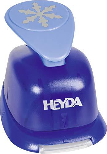 Heyda 203687513 Heyda 203687513 Motivstanzer, groß Motivgröße: ca. 2,5 cm, Motiv: Schneeflocke