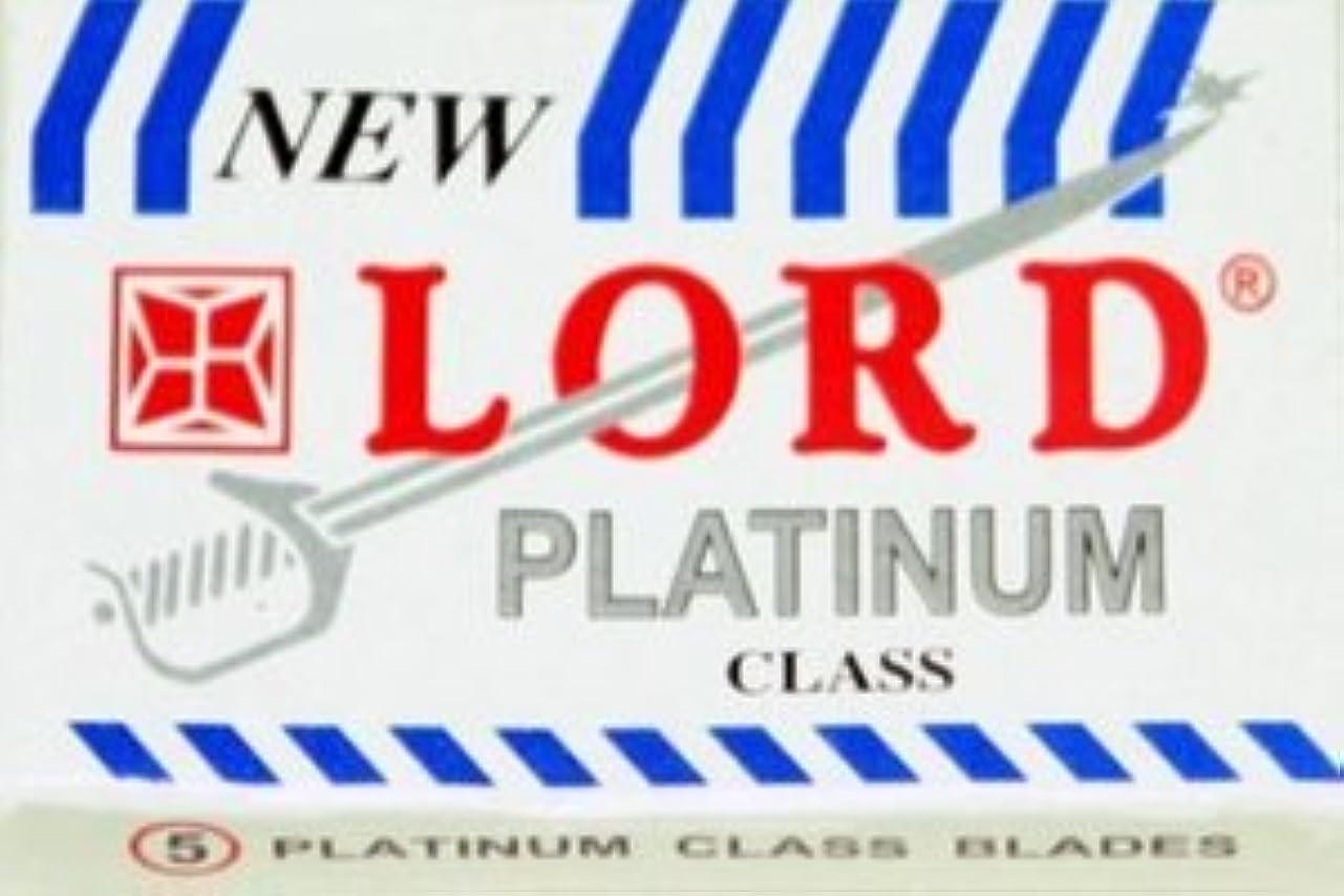 避けられない改革安心させるLord Platinum 両刃替刃 5枚入り(5枚入り1 個セット)【並行輸入品】