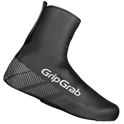 GripGrab Ride wasserdichte Winddichte Fahrrad Überschuhe   Unisex Radsport Überzieher/Gamaschen für Regen Wetter, Schwarz, XS (36-37)