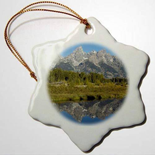 BYRON HOYLE Wyoming Grand Teton Range Grand Teton NP Wyoming RKL Raymond Klass Ornaments Snowflake Ornament Pandemic Xmas Decor Wedding Ornament Holiday Present