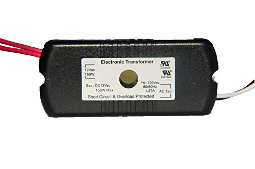 HC Lighting - Halogen / Xenon Electronic Transformer 50W 60W,75W, 105W, and 150 Watt Max output 120 Volt Input / 12 Volt Out Put Potted Transformer