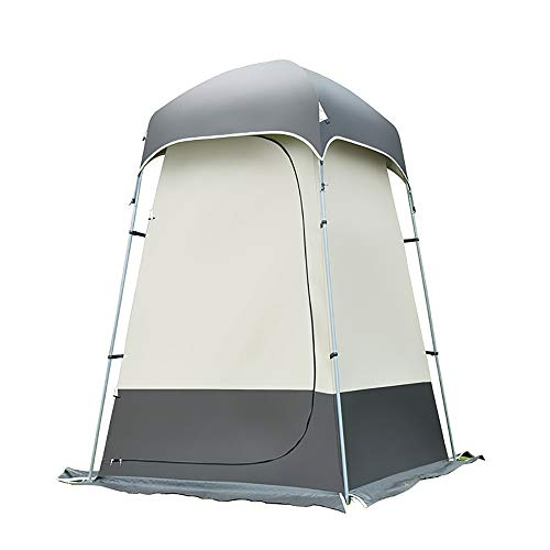 Outdoor Duschzelt Instant Zelt Sun Shelter wasserdichte ZeltzubehöR Zum Baden Und Umziehen-Coffee