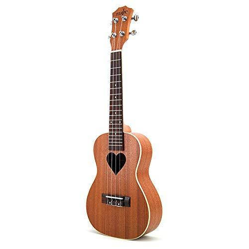NEYOANN Concierto de 23 Pulgadas Cuerdas de Ukelele Guitarra Hawaiana Guitarra AcúStica Patrones de Ukelele Guitarra Enviar Regalos
