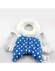 وسادة للرضع ببطانة لحماية الراس/ اجنحة لرقبة الاطفال/ بطانة مقاومة للسقوط/ بتصميم على شكل حقيبة يلبسها الطفل لتحميه من السقوط