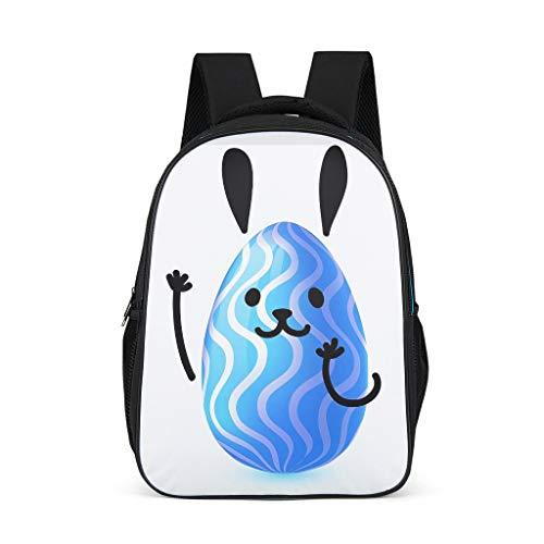 O5KFD&8 Daypack Easter Rabbit Studenten Rucksack, Schulrucksäcke Jungen - Rucksack Teenager Mädchen Modernistlook Rucksack Grey OneSize
