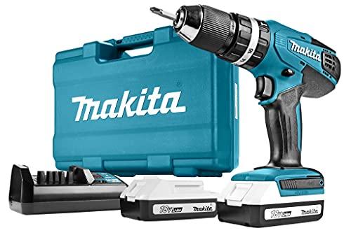 Makita HP457DWE10 Taladro percutor 2x18 ...