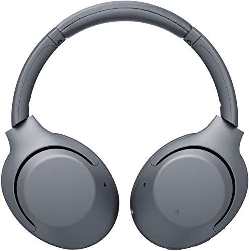 Sony Wh-XB900N - Auriculares inalámbricos con cancelación de Ruido, hasta 30 Horas de duración de la batería, Llamadas Manos Libres, Alexa, Color Gris (Reacondicionado)