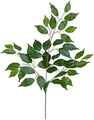 フィカス(ベンジャミン)スプレイ *42(LES5119)[フェイクグリーン リーフ スプレイ 人工観葉植物 フィカススプレイ フィカス ベンジャミン]