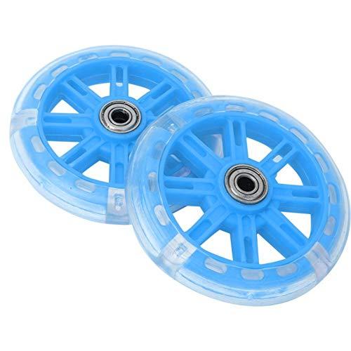 minifinker Bicicleta para niños Ruedas de Entrenamiento Ruedas de Entrenamiento Equilibrio más Duradero, para niños(Blue)