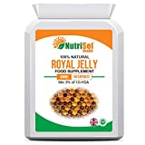 NutriSol Health Royal Jelly 500mg 60 Capsules | Antioxidant | Anti-ageing and Immunomodulatory Supplement | 100% Natural GMP Quality Food Supplement Made in The UK