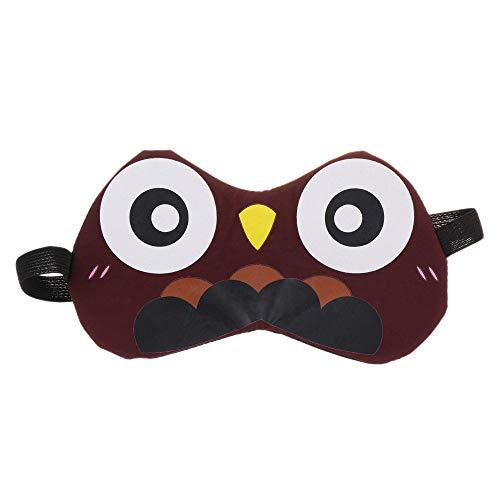 HIUGHJ 3D Schlafmaske Nat¨¹rliche Schlafaugenmaske Eyeshade Cover Shade Augenklappe Frauen M?nner Weiche Tragbare Augenbinde Reise Augenklappe, 3