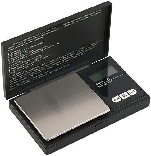 mafiti MK300 Báscula Digital para Cocina de Acero Inoxidable, 500gx0.01g,Balanza de Alimentos Multifuncional, Peso de Cocina