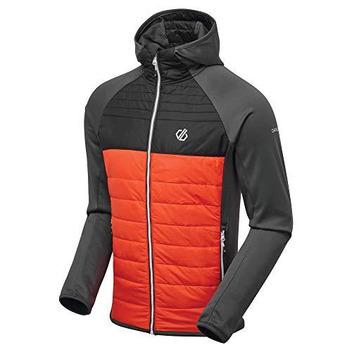 Dare 2b Herren Coordinate I Loft Wool Fill Hybrid with Polyester Ripstop and Core Stretch Mix Jacket Jacken, TrailBlaze/Ebenholz, M