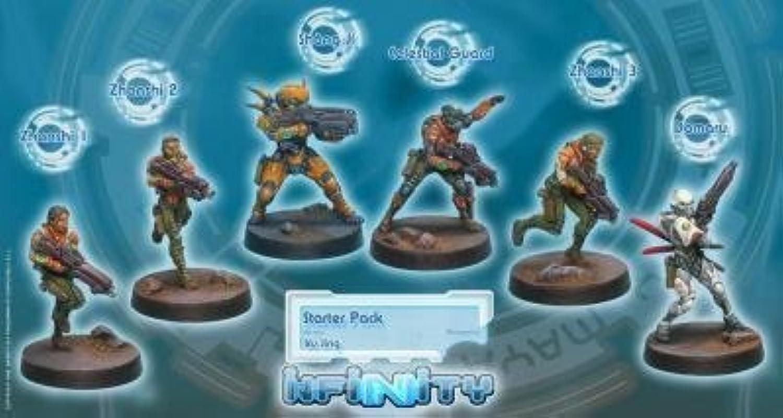 Infinity ( 008) Yu Jing Starter Pack (Revised) (6) by Corvus Belli