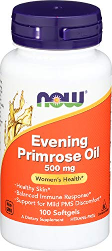 Now Foods Evening Primrose Oil 500 mg 100 Softgels