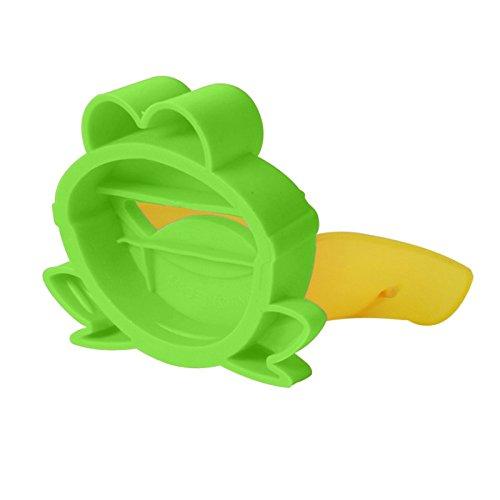Demiawaking Süß Wasserhahn Verlängerung Extender für Kinder Baby Hände waschen Badezimmer-Cartoon Frosch Design (Grün) - 6