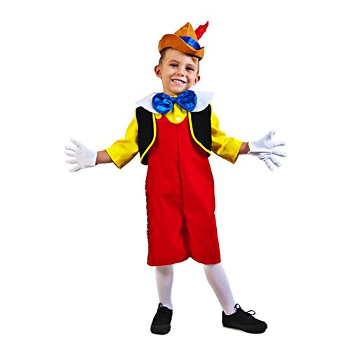 Child's Complete Pinocchio Costume (Toddler 2-4T)