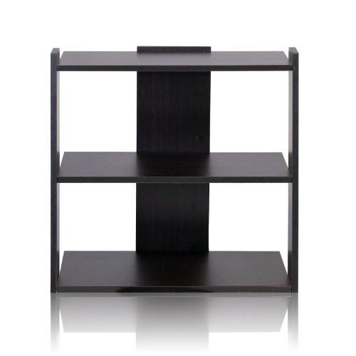 Furinno Hidup Tropika Mini Ladder Shelf, Espresso