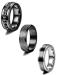 Image of Jstyle 3Pcs Stainless Steel...: Bestviewsreviews