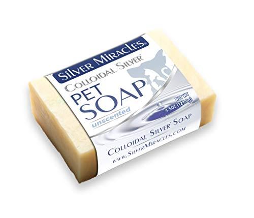 Colloidal Silver Natural Pet Soap
