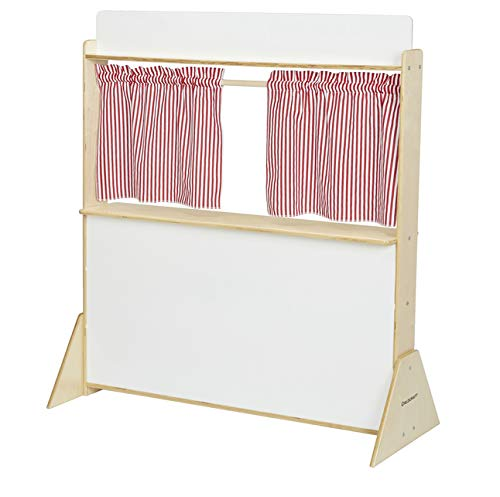 Childcraft Play Store and Puppet Theater with Dry-Erase Panels, 45-1/2 x 19-1/2 x 50-3/4 Inches