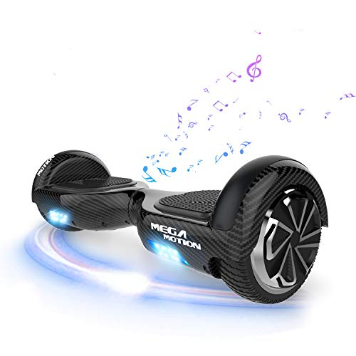 SOUTHERN WOLF Hoverboard, Elektro Scooter 6,5 LED E-Balance Scooter E-Skateboard Elektroroller Bluetooth,Elektro Skateboard für Kinder 8 bis 12 Jahren
