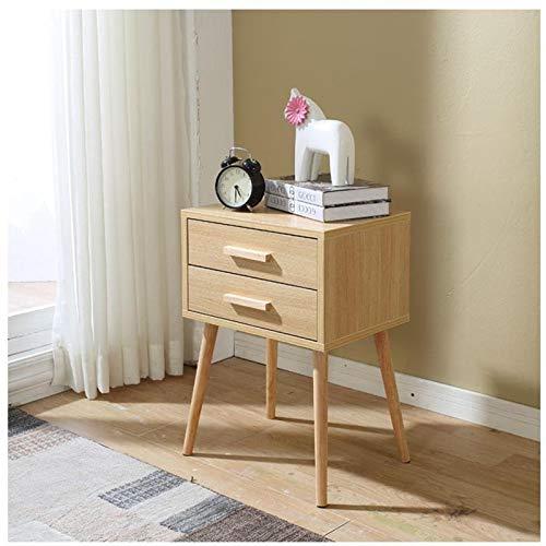KAIBINY YY LEMARI KAYU VELADORES NORDICO Europeo Shabby Chic Muebles de Madera Mueble Mueble de Dormitorio Cuarto Nightstand (Color : Model F)