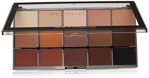 Makeup Revolution - Lidschattenpalette - Re-Loaded Palette - Basic Mattes
