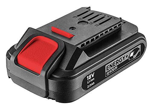 Graphite 58G001 Batería, 18V Li, 2 Ah, 2000 W, 18 V, Negro