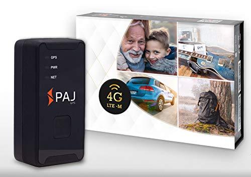 4G Allround Finder von PAJ GPS, GPS-Tracker mit neuester Technologie, inkl. SOS-Taste, Akkulaufzeit ca. 10-15 Tage, LTE inkl. App