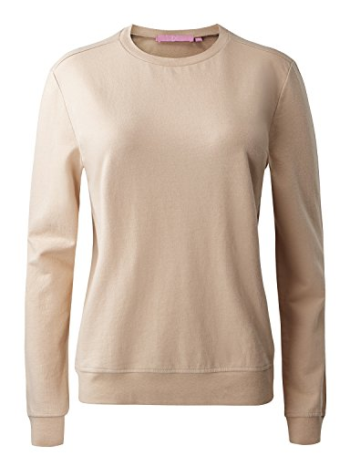 Regna X NO Bother Womens Cowl Neck Long Sleeve Solid Color Pullover Sweatshirts