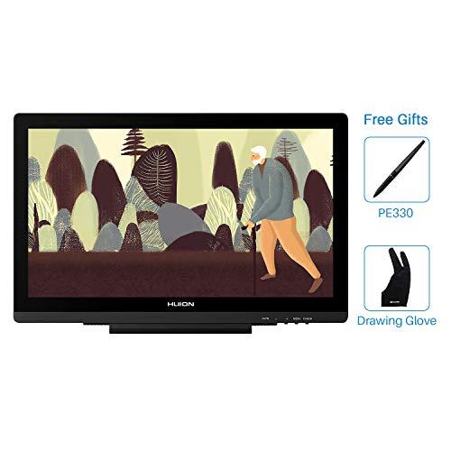 Huion KAMVAS GT-191 19.5 Zoll 8192 Druckstufen Grafikzeichentablett-Monitor Display für Stift-Design mit Panel 1920x1080 FHD IPS