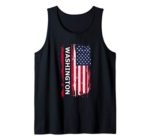 State Of Washington Gift & Souvenir Tank Top