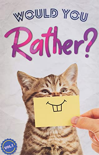 Would You Rather?: The Book Of Silly, Challenging, and Downright Hilarious Questions for Kids, Teens, and Adults(Game Book Gift Ideas)(Vol.1)