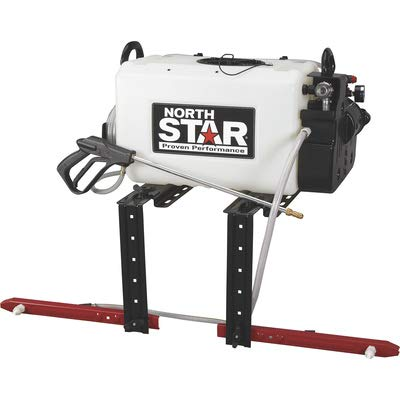 NorthStar ATV Broadcast and Spot Sprayer with 2-Nozzle Boom- 16-Gallon Capacity, 2.2 GPM, 12 Volts